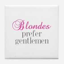 Blondes Tile Coaster