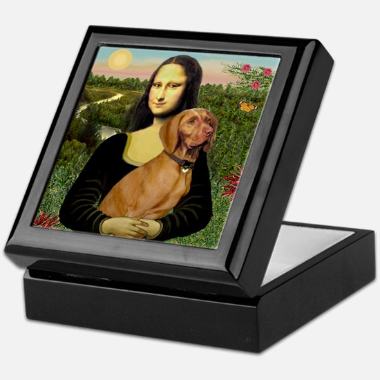 Mona Lisa (new) & Vizsla Keepsake Box
