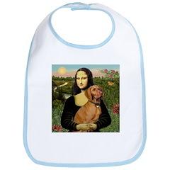Mona Lisa (new) & Vizsla Bib