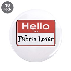 Fabric Lover Nametag 3.5