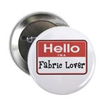 Fabric Lover Nametag 2.25