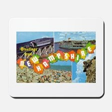 New Hampshire Greetings Mousepad