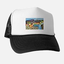 New Hampshire Greetings Trucker Hat