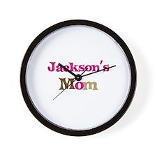 Jackson's Mom  Wall Clock