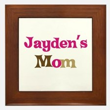 Jayden's Mom  Framed Tile