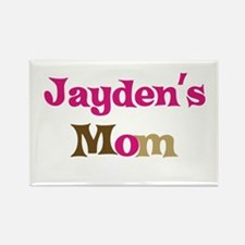 Jayden's Mom Rectangle Magnet