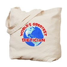 World's Greatest Dieti.. (F) Tote Bag