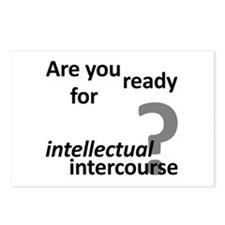 Intellectual Intercourse Postcards (Package of 8)