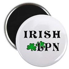 "Irish Nurse LPN 2.25"" Magnet (10 pack)"