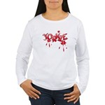 Yorkie Graffiti Women's Long Sleeve T-Shirt