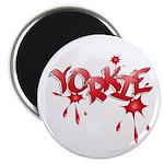 Yorkie Graffiti Magnet