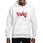 Yorkie Graffiti Hooded Sweatshirt