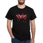 Yorkie Graffiti Dark T-Shirt
