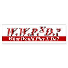 WWPXD? Bumper Bumper Sticker