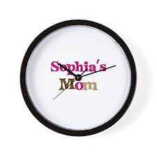 Sophia's Mom Wall Clock