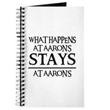 STAYS AT AARON'S Journal