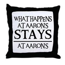 STAYS AT AARON'S Throw Pillow