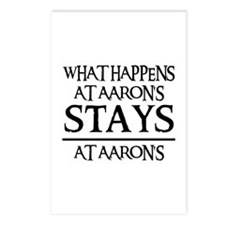 STAYS AT AARON'S Postcards (Package of 8)
