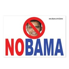 NO OBAMA Postcards (Package of 8)