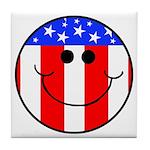 Patriotic Tile Coaster