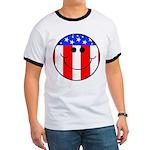 Patriotic Ringer T