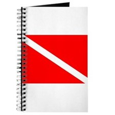 Diver Down Dive Flag Journal