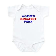 World's Greatest Prick (A) Infant Bodysuit