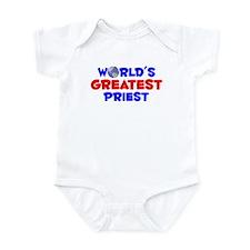 World's Greatest Priest (A) Infant Bodysuit