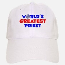 World's Greatest Priest (A) Baseball Baseball Cap