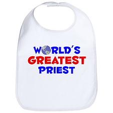 World's Greatest Priest (A) Bib