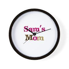 Sam's Mom  Wall Clock