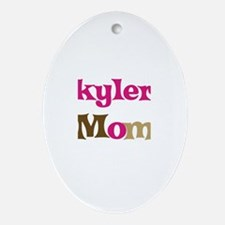 Skyler's Mom  Oval Ornament