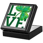 I (Heart) USMC Framed Tile