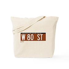 80th Street in NY Tote Bag