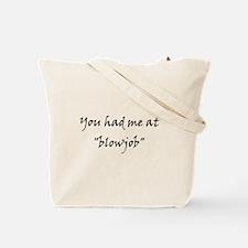 Blowjob Tote Bag