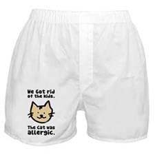 Kept the Cat Boxer Shorts