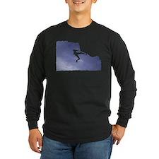 Overhang Dark Long Sleeve T-Shirt