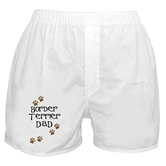 Border Terrier Dad Boxer Shorts