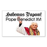 Habemus Papam! Rectangle Sticker