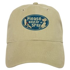 Please Neuter or Spay Baseball Cap