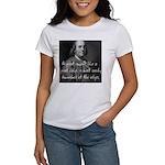 Benjamin Franklin Quote 3 Women's T-Shirt