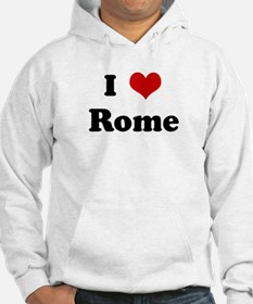 I Love Rome Jumper Hoody