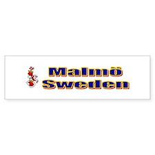 Malmö Sweden Bumper Bumper Sticker