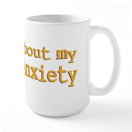 Social Anxiety Large Mug