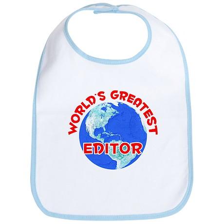 World's Greatest Editor (F) Bib