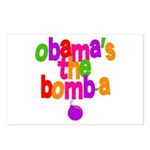 Obama's the Bomba Postcards (Package of 8)