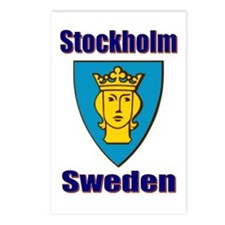 Stockholm City Postcards (Package of 8)