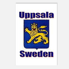 Upsalla Sweden Original Postcards (Package of 8)
