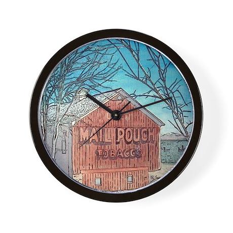 MailPouch Barn Wall Clock
