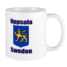 Uppsala Sweden Small Mug